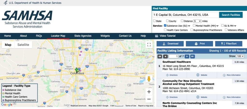 List of cheap suboxone facilities near Columbus, OH.